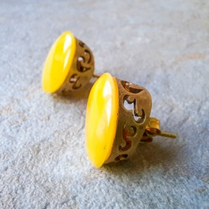 Silver earrings with natural amber (1) (1) (1) (1) (1)